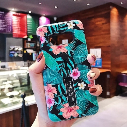 Tropical Flower's Case For Samsung