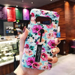 Painted Flower Case For Samsung
