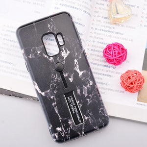 Black Marble Case For Samsung