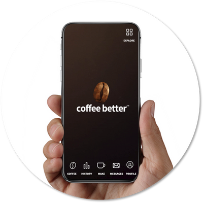 Getting started with the coffee better™ app