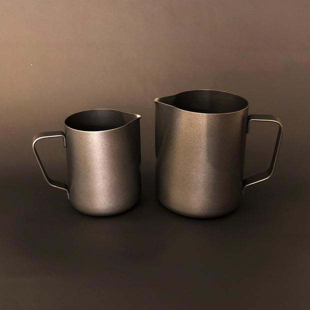 Olympia Black Teflon Jug Set  - 300ml & 600ml