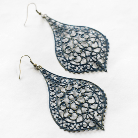 Chantilly Lace Filigree Earrings