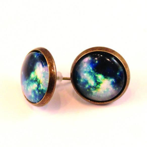 Galaxy Dome Earrings