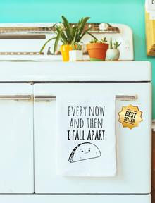 Every Now And Then I Fall Apart Towel