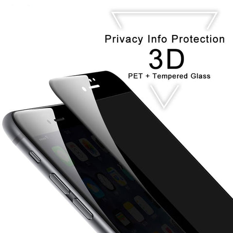 ANTI-SPY 3D SCREEN PROTECTOR GLASS - Martbeat