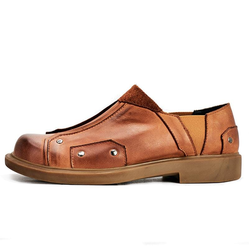 Soft Sole Men's Casual Leather Shoes