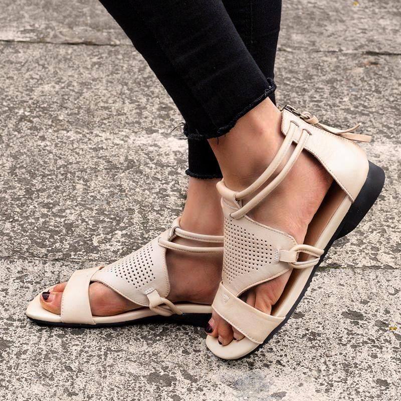First Layer Cowhide Leather Sandals Genuine Leather Sandals