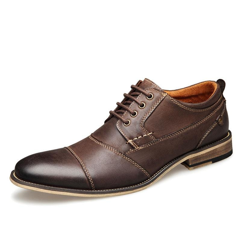 New Dress Shoes Men's Leather Shoes
