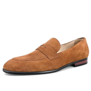 Suede Loafers Men's Leisure Shoes Fashion Outfits -XXMP01025