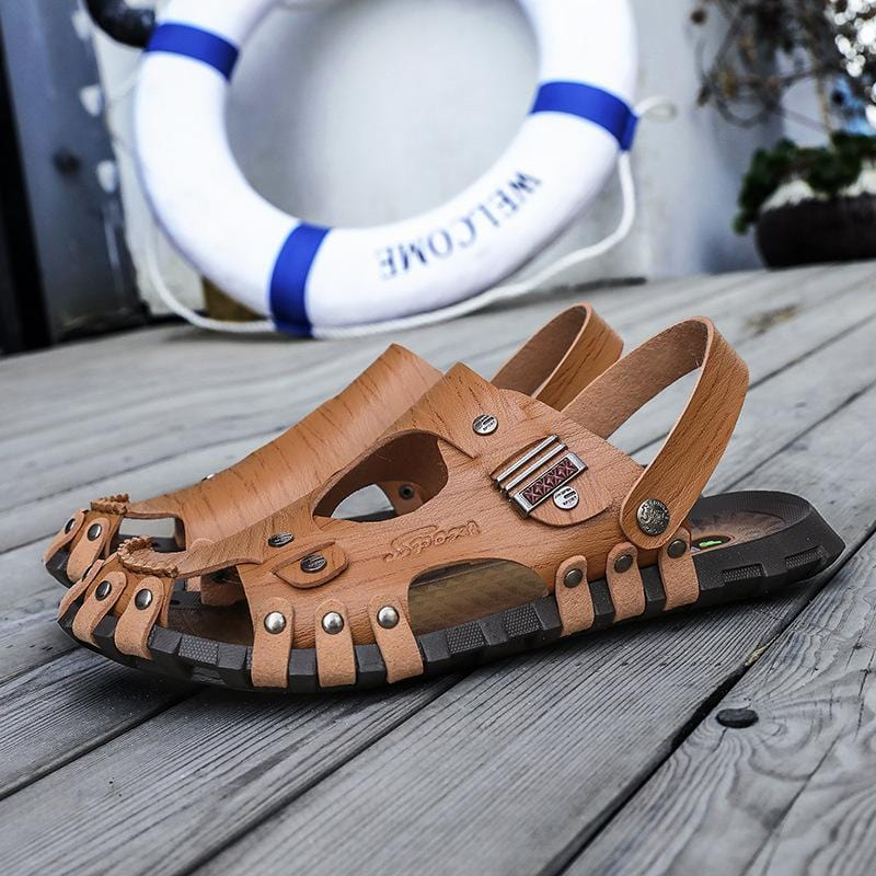 Adjustable Men's Sandals Summer Daily Shoes