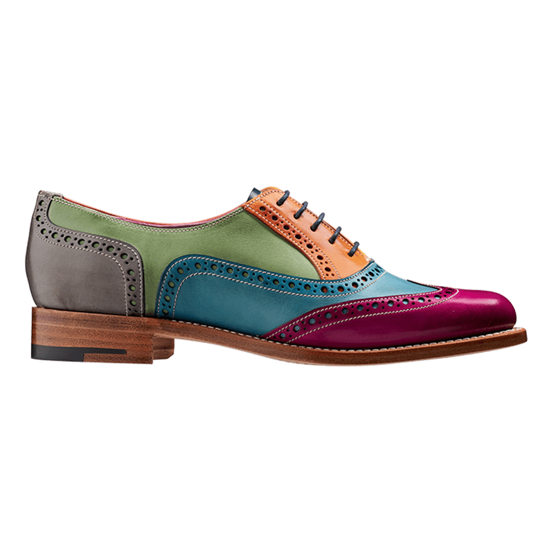 Handmade Leather Derby Shoes Men's Brogue Shoes Rock The Life