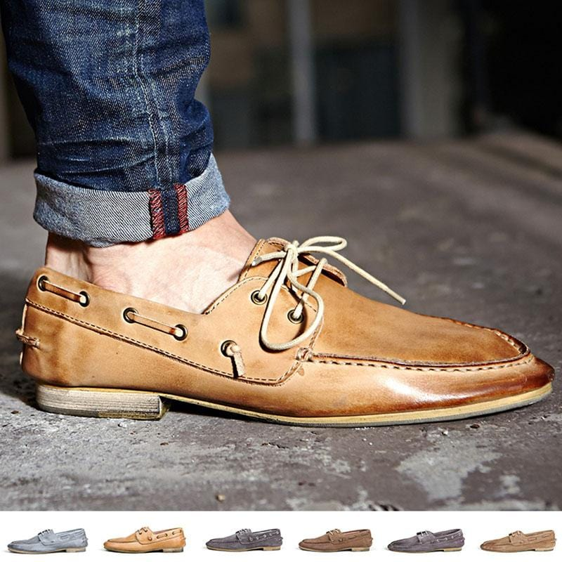 Stylish Men's Boat Shoes Top Fashion Casual Shoes