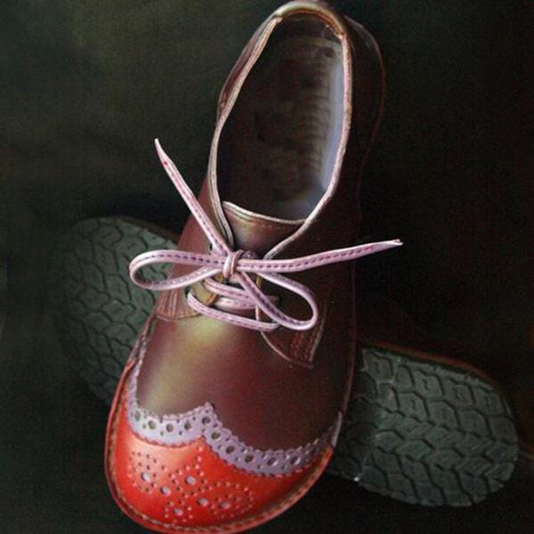 Handmade Cute Leather Shoes Lovely Oxford Shoes
