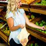 Reusable Cotton Produce Bags (6 pcs)
