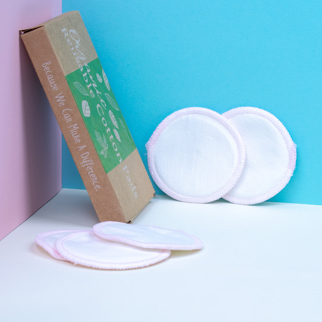 Reusable Bamboo Fiber Cotton pads