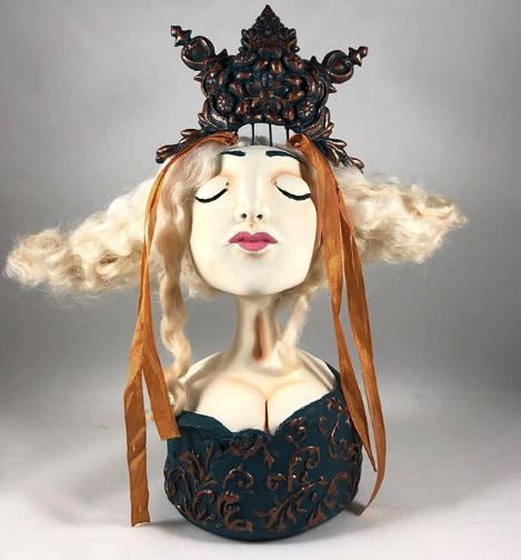 Interview with Madelene Antrim, An Artist of Surrealist Folk Art Dolls