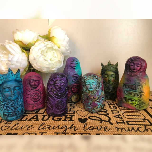 Meditation Art Dolls