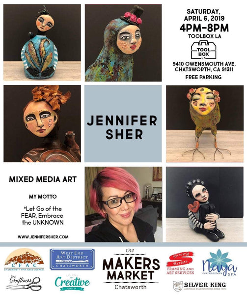 What's Happening on Jennifer Sher Art