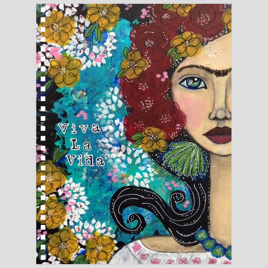 Frida Inspired Notebook - Jennifer Sher Art