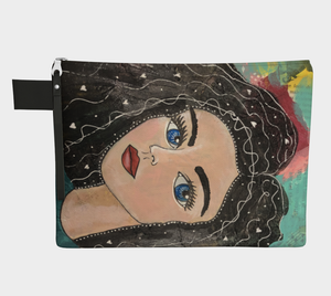 Awakening to Oneness Carry-all Zipper Pouch - Jennifer Sher Art