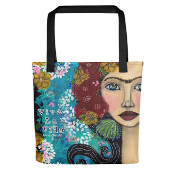 Frida Inspired Tote bag - Jennifer Sher Art