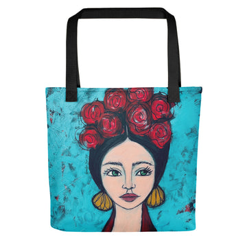 Frida Inspired Tote bag 2
