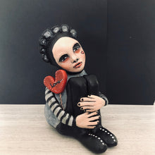 Load image into Gallery viewer, Handmade Art Doll - Soulful Lovebearer