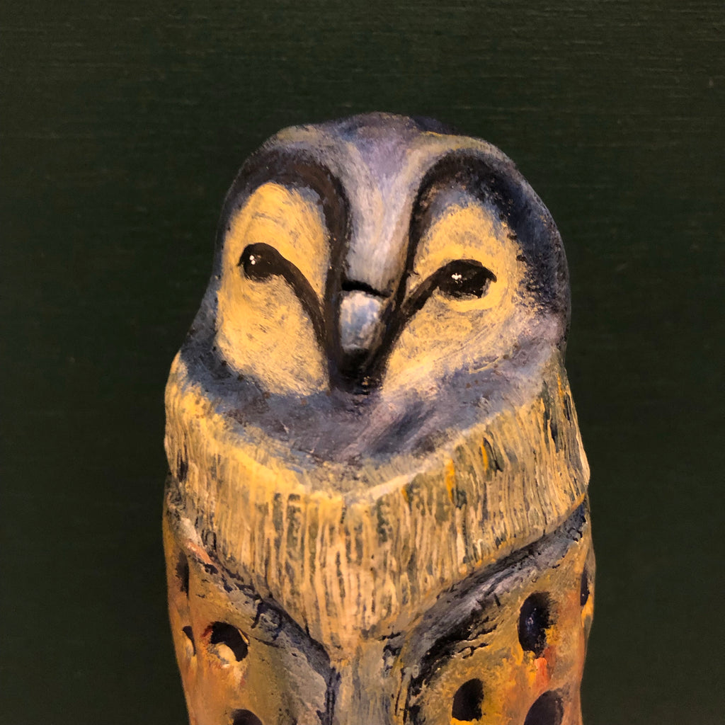 SOLD - Sweet Owl - Jennifer Sher Art