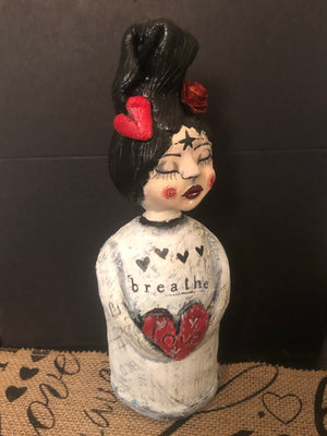Breathe Art Doll - Jennifer Sher Art