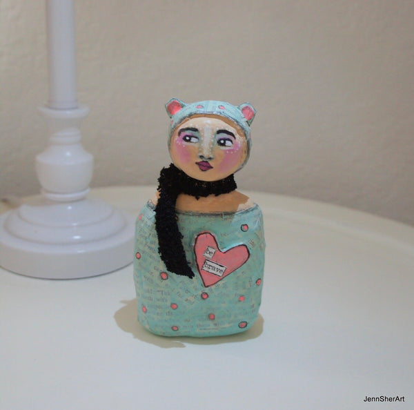 SOLD - Art Doll Ari - Jennifer Sher Art