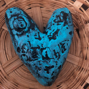 Hand Sculpted Hearts - Jennifer Sher Art