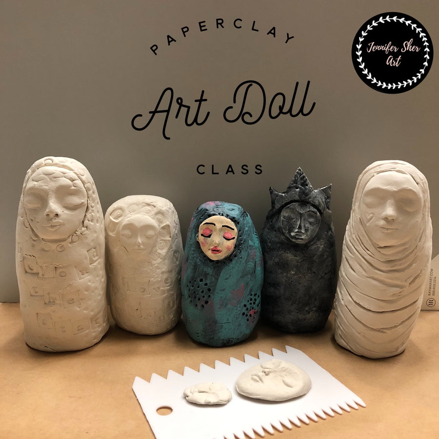 Paperclay Art Class - Create an Art Doll