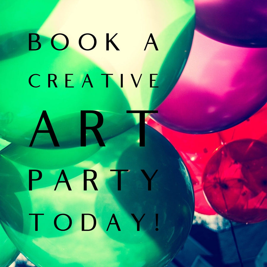CLOSED - Creative Art Party - See Available Locations - Jennifer Sher Art