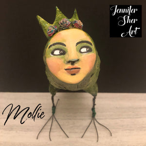 SOLD - Mollie -  Donate to a Non-Profit Today! - Jennifer Sher Art