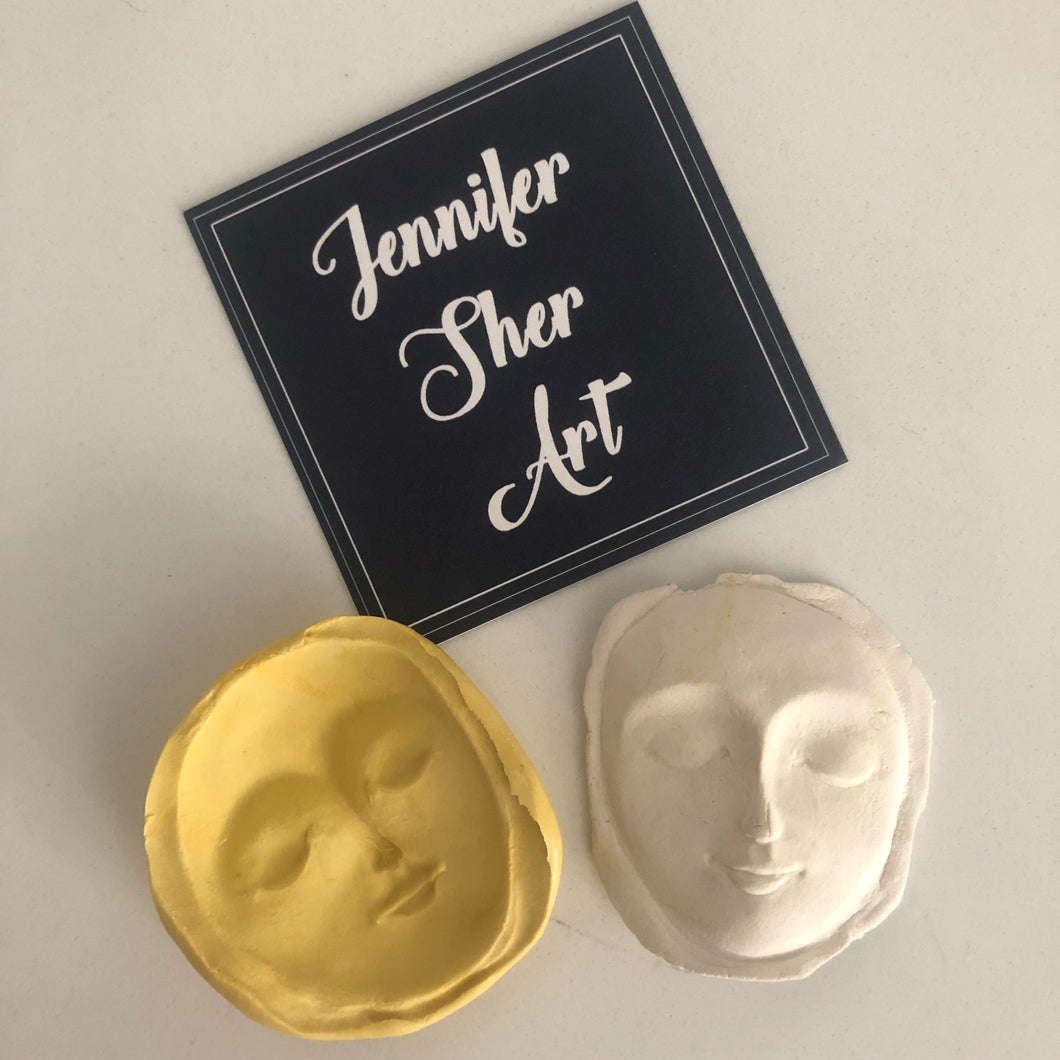 Face Mold - Large - Jennifer Sher Art