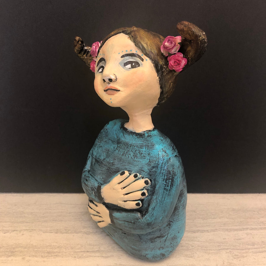 SOLD - Art Doll Nadya - Jennifer Sher Art
