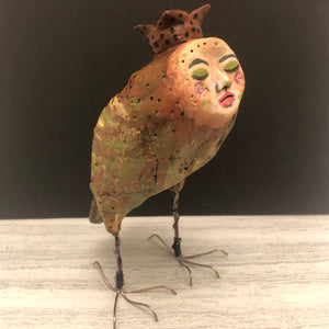 SOLD - Art Doll Abbie - Jennifer Sher Art