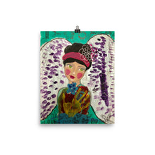 Load image into Gallery viewer, Playful Art Angel Print - Jennifer Sher Art