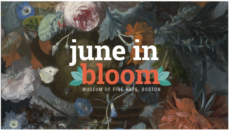 Invited to June in Bloom Marketplace at the Museum of Fine Arts, Boston!