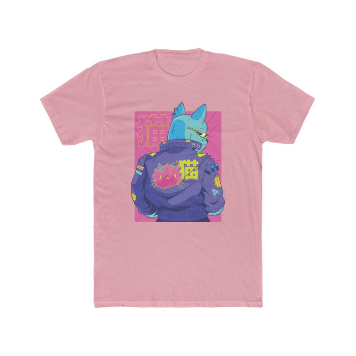 Cyberpunk Cat Men's T Shirt