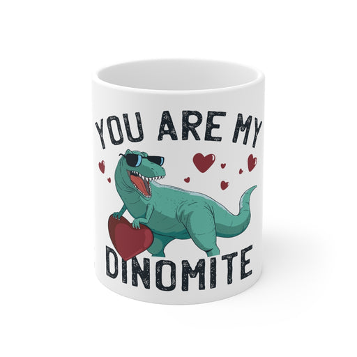 Dinosaur Coffee Mugs | You Are My Dinomite Coffee Mug | Dinosaur Coffee Mug | sumoearth 🌎