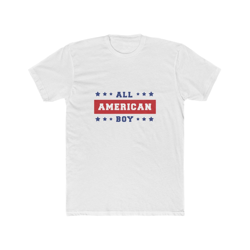 4th of July T-Shirts | Men's All American Boy T-Shirt | sumoearth 🌎