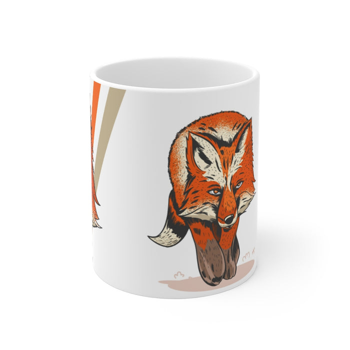 Fox Coffee Mugs | Fox Coffee Mug - The Hunt | sumoearth 🌎