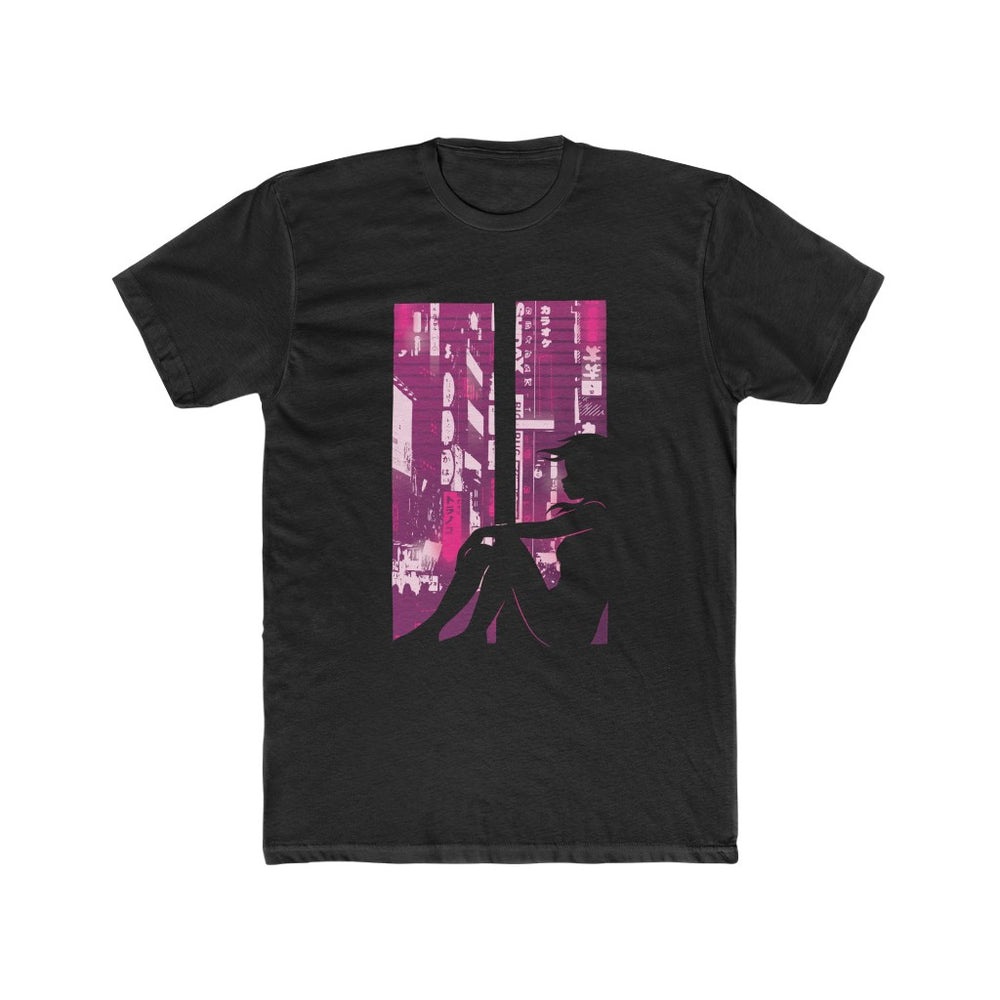 Cyberpunk Girl Men's T Shirt