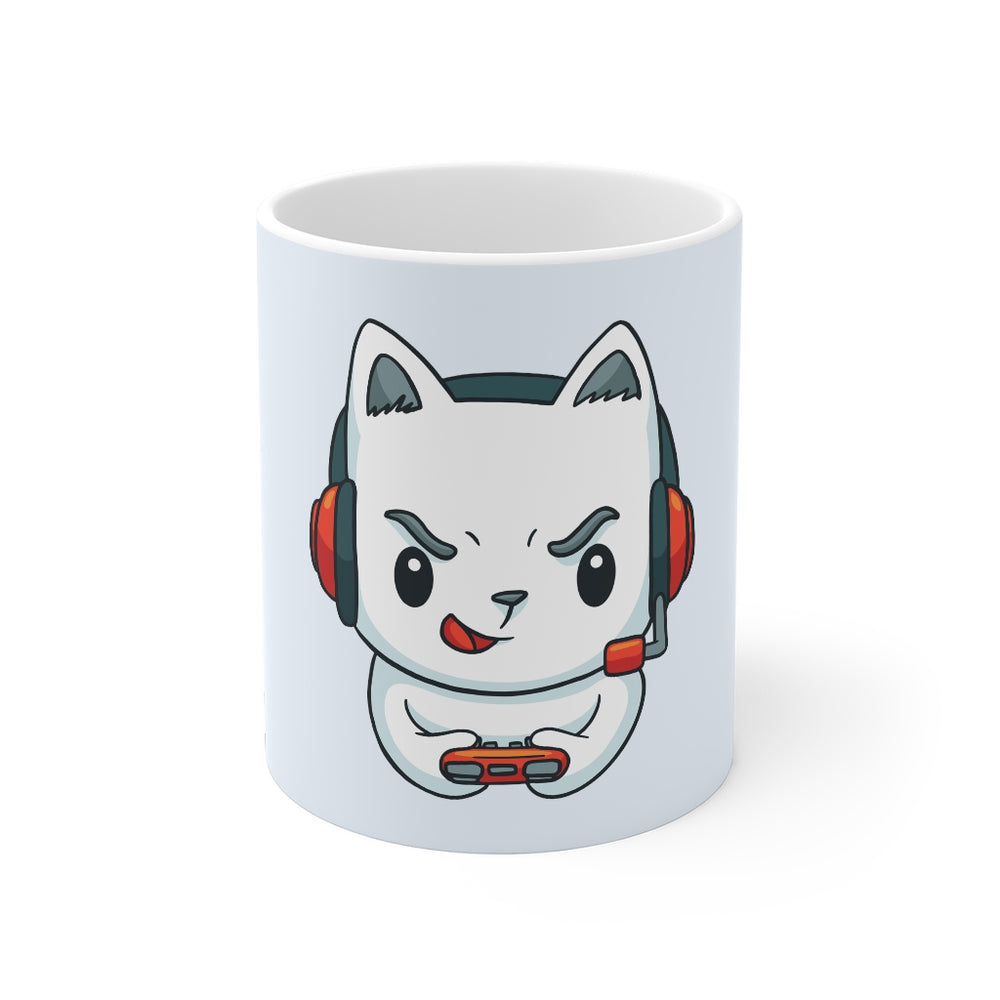 Gamer Coffee Mug | Gamer Cat | Gamer Coffee Mug | sumoearth 🌎
