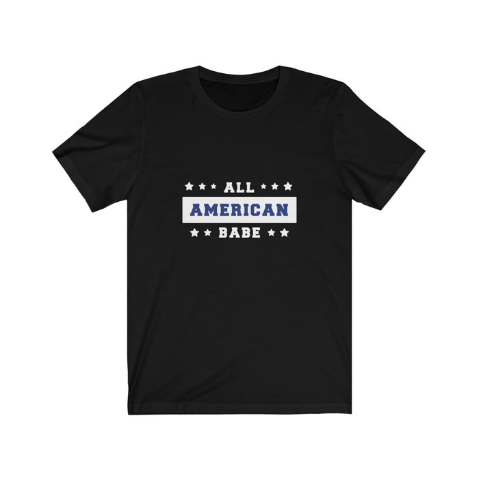 4th of July T-Shirts | Women's All American Babe T-Shirt | sumoearth 🌎