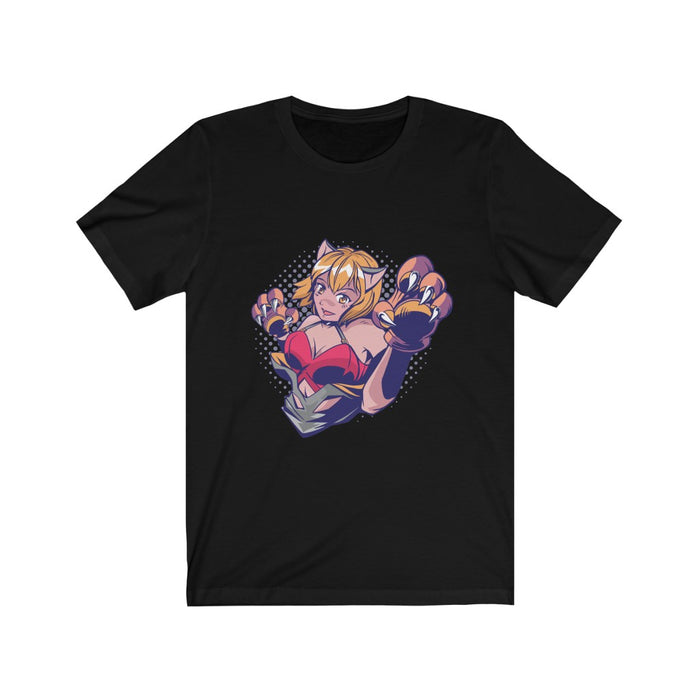 Anime Women's T Shirt | Paw Girl Women's T Shirt | sumoearth 🌎