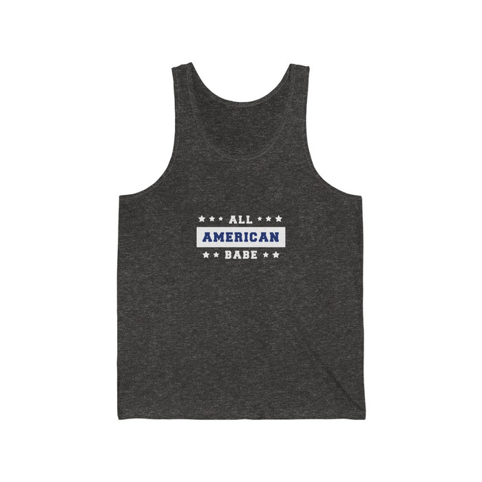 4th of July Tank Tops | All American Babe Unisex Tank Top | sumoearth 🌎