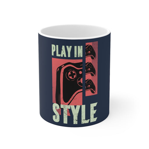 Gamer Coffee Mug | Play In Style | Gamer Coffee Mug | sumoearth 🌎