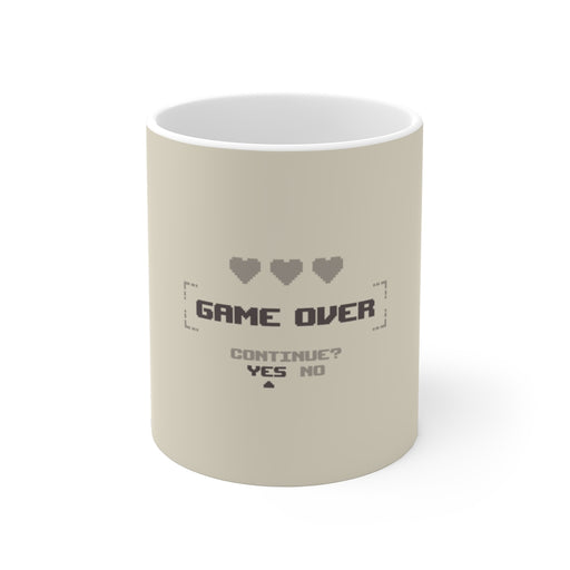 Gamer Coffee Mug | Game Over Coffee Mug | sumoearth 🌎